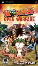 Worms: Open Warfare PSP