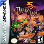 Mazes of Fate GBA