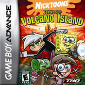 Nicktoons: Battle for Volcano Island GBA