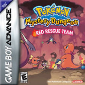 Pokemon Mystery Dungeon: Red Rescue Team GBA