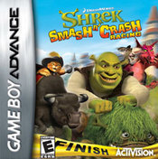 Shrek Smash 'n' Crash Racing GBA