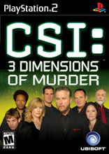 CSI 3: Dimensions of Murder PS2