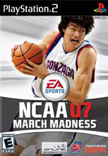 NCAA March Madness 07 PS2