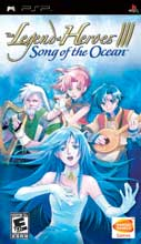 Legend of Heroes III: Song of the Ocean PSP