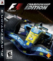 Formula 1: Championship Edition for PlayStation 3 last updated Dec 20, 2006
