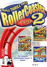 Roller Coaster Tycoon 2 Triple Thrill Pack PC