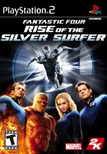 Fantastic 4: Rise of the Silver Surfer PS2