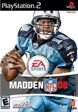 Madden NFL 08 for PlayStation 2 last updated May 19, 2012