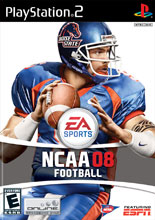 NCAA Football 08 PS2