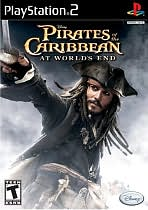 Pirates of the Caribbean: At World's End PS2
