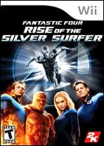 Fantastic 4: Rise of the Silver Surfer Wii