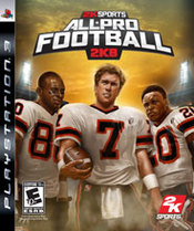 All-Pro Football 2K8 PS3