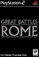 The History Channel: Great Battles of Rome PS2