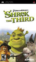 Shrek the Third PSP