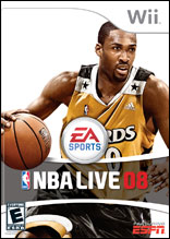 NBA Live 08 for Wii last updated Sep 21, 2009