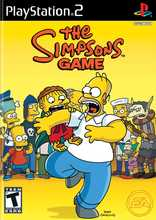 The Simpsons Game PS2