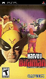Harvey Birdman: Attorney at Law PSP