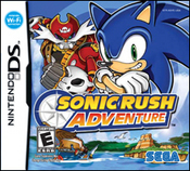 Sonic Rush Adventure for Nintendo DS last updated Feb 05, 2008